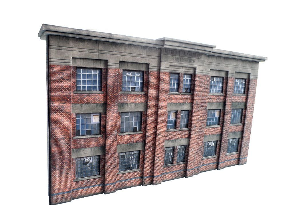Print & Build Model Railway Building Gold Collection OO HO